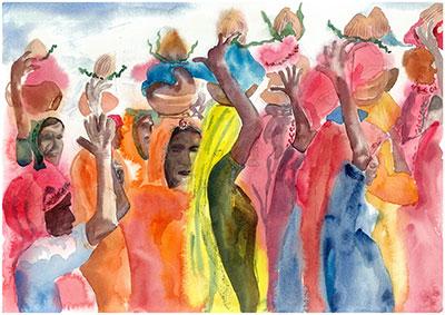 Pushka camel festival