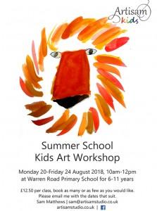 Summer Holiday Art Club