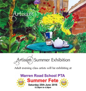 Artisam Summer Exhibition