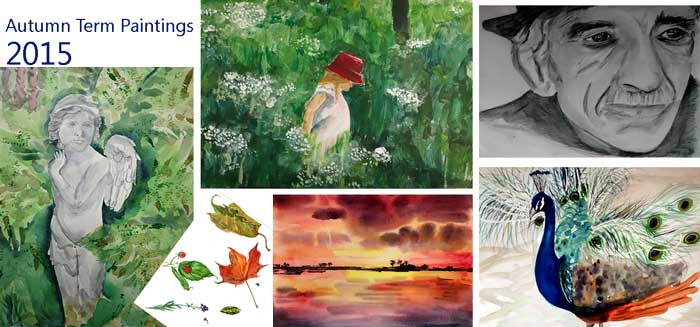 Artisam Autumn Term Painting 2015