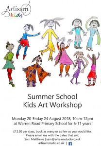 Summer Holiday Art Workshop