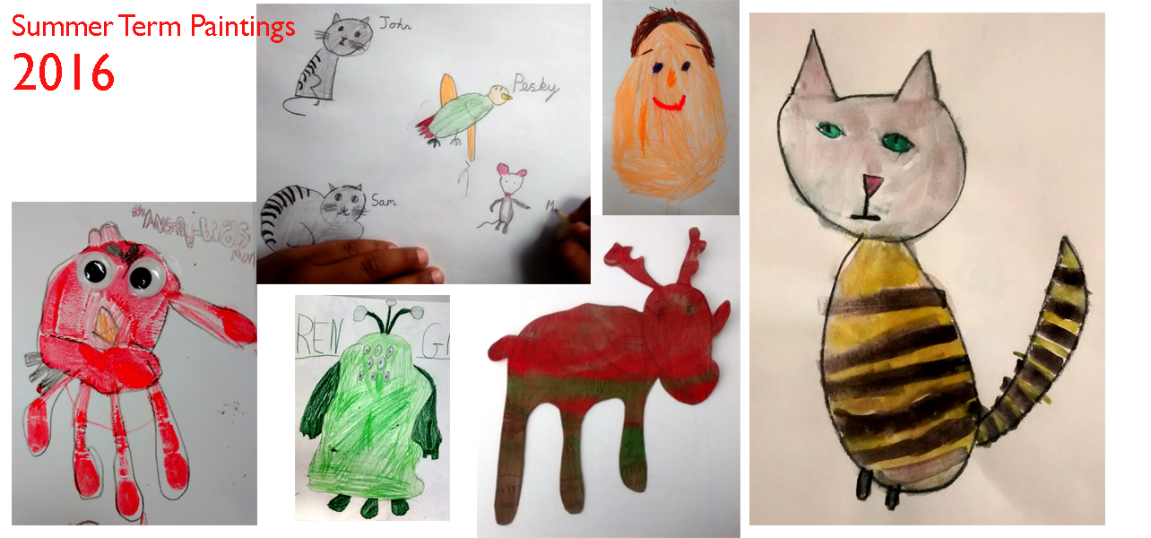 Artisam Kids Gallery Summer Term 2016