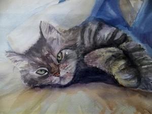Commission Pet Portrait: Katie