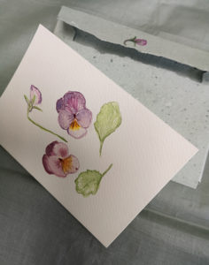 Spring Watercolour Card