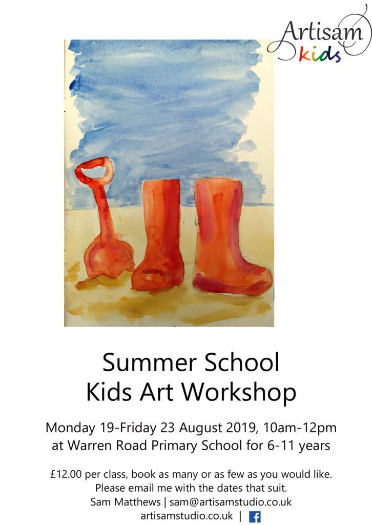 Artisam Kids Summer Workshop 2019