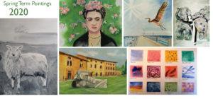 Adult Art Class Spring Gallery 2020
