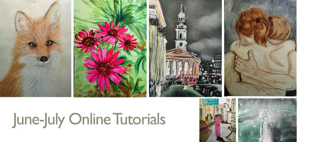 Summer June-July Virtual Paintings